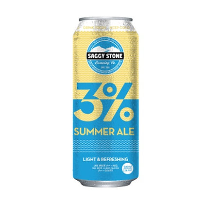 Saggy Stone 3% Summer Ale 500ml (4-pack)