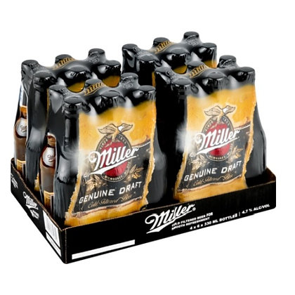 Miller Genuine Draft (24-case)