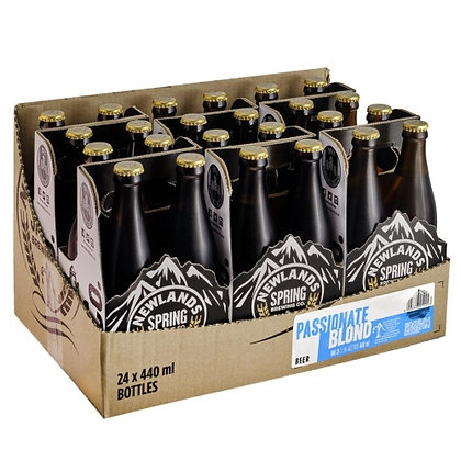Newlands Spring Passionate Blonde 440ml (24-case)