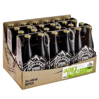 Newlands Spring Jacob's Pale Ale 440ml (24-case)