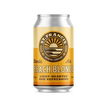 St Francis Beach Blonde Cans (24-case)