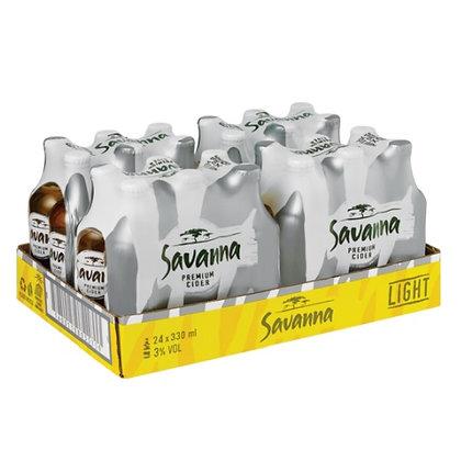 Savanna Light Cider (24-case)