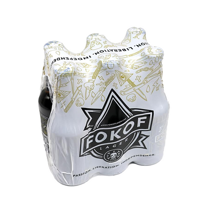 Fokof Lager (6-pack)