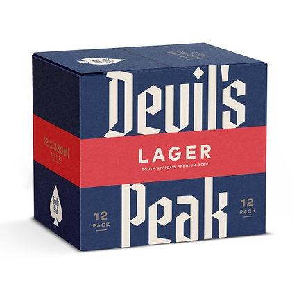 Devil's Peak Lager (12-case)