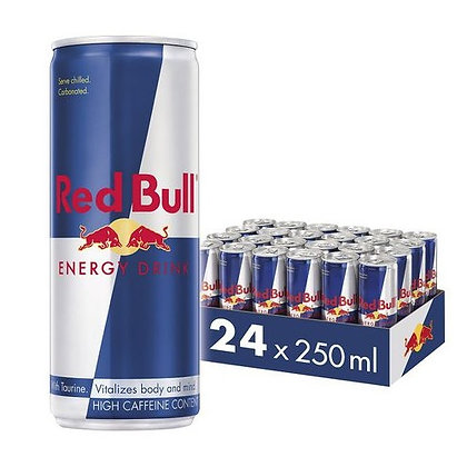 Red Bull Cans 250ml (24-case)