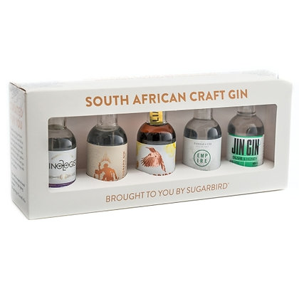 Sugarbird SA Craft Gin Pack (1x5 pack)