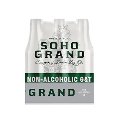 SOHO Grand Non-Alcoholic G&T (6-pack)