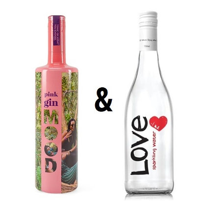 Mood Gin Pink & Love Water Offer