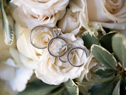 Gorgeous Rings & Floral