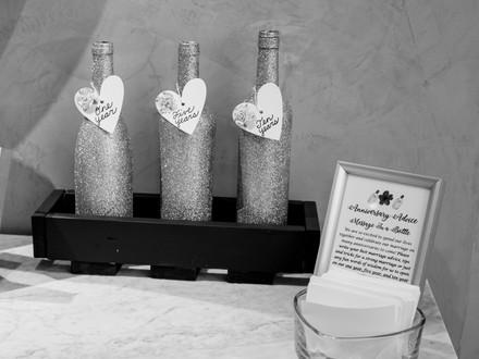 Anniversary Advice Bottles