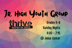 Copy of Jr. High Youth Group