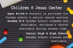 Children @ Jesus Center