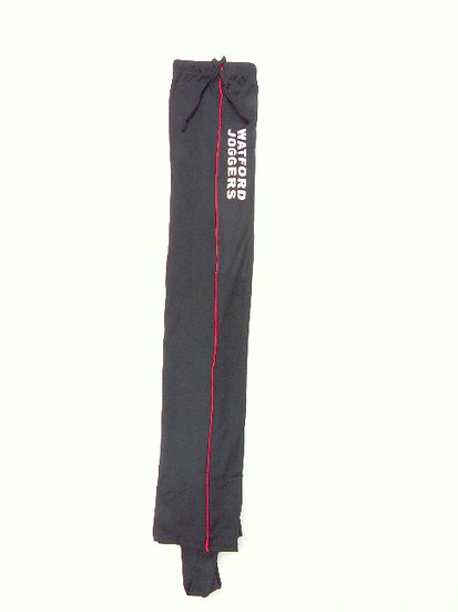 Trackster running leggings in Red and Black