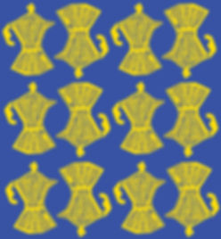 Cafeteras Pattern Yellow + Blue.jpg