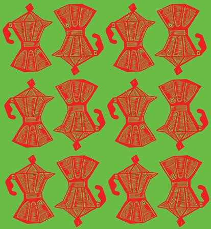 Cafeteras Pattern Red + Green.jpg