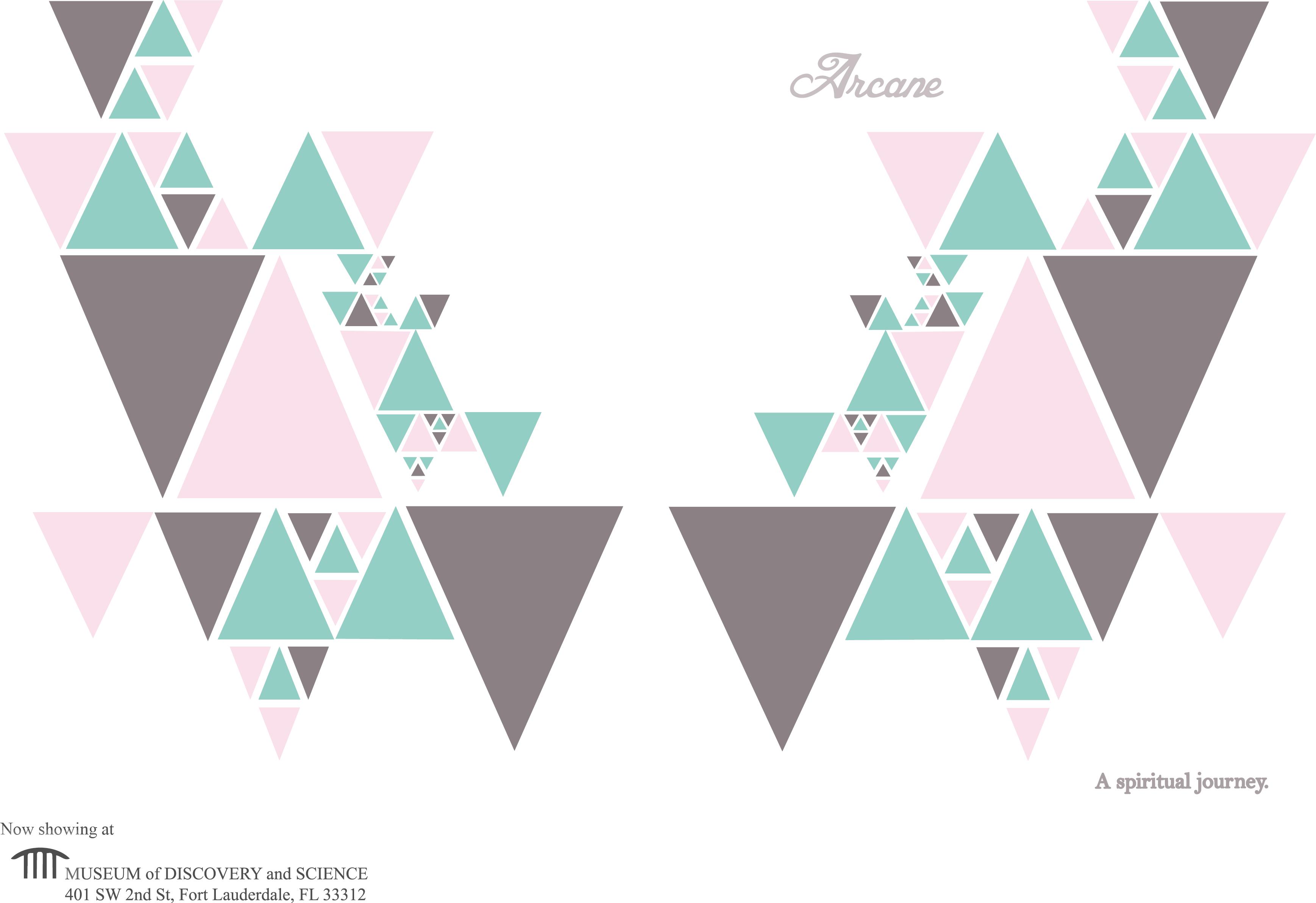 Arcane Brochure Cover- Open