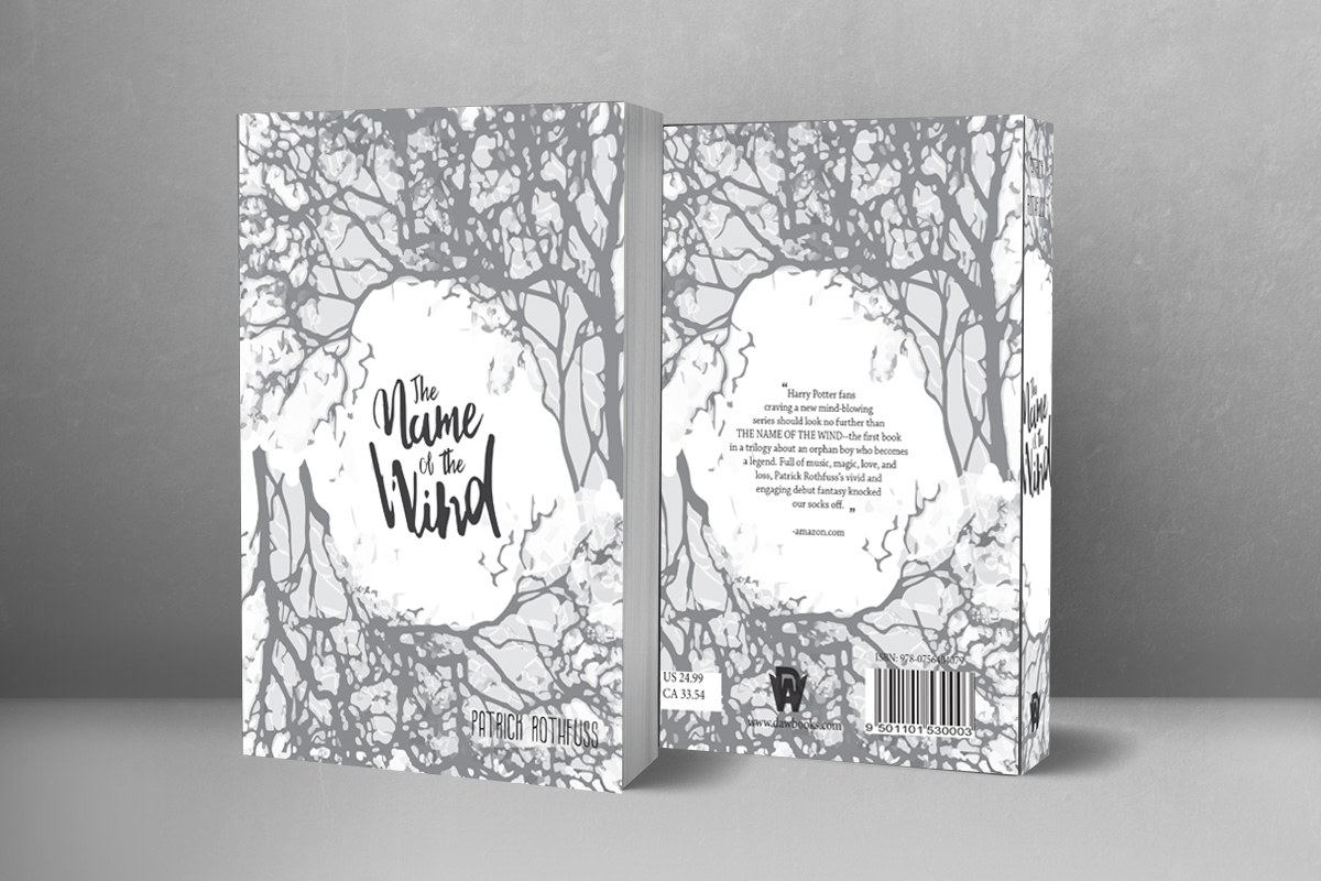 Name of the Wind Book Jacket Design