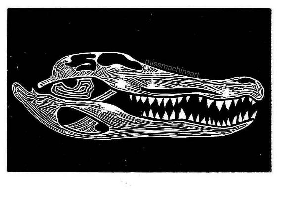5 skull print