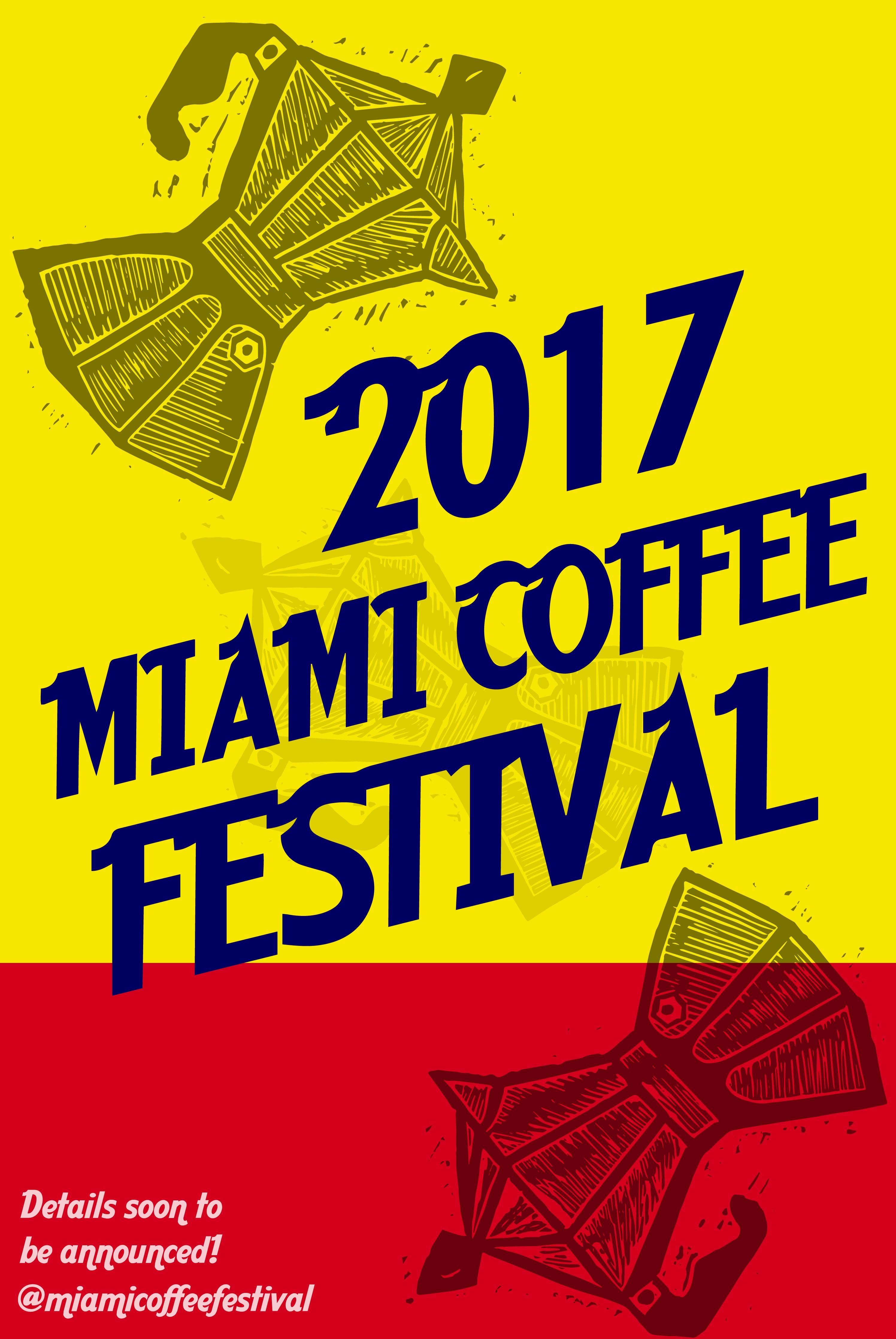 Poster- Miami Coffee Festival