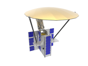Startup's pop-up antennas slash price of satellite communications