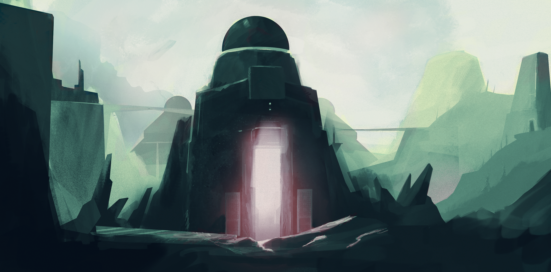 CONCEPT - Temple Moon