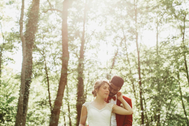 portrait marié et mariée
