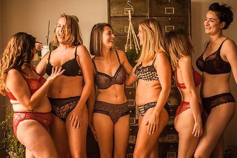 séance photo lingerie sans retouche