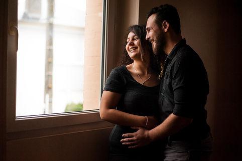 séance photo couple à domicile