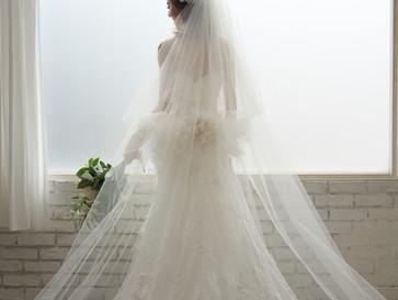 ウェディングドレスのベールの意味