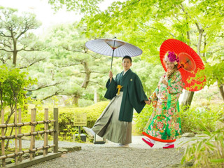 和装ロケーション撮影をする花嫁さま急増中!