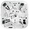 Jacuzzi Dimension one - DIPLOMAT 5 places dont 2 sièges ultra lounge - 43 jets VCR