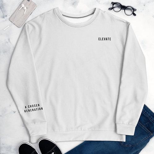 Chosen Generation Sleeve Embroidered Sweatshirt