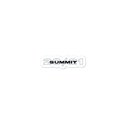 SUMMIT 20/21 Sticker