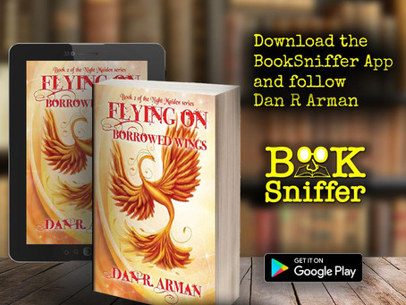 Flying on Borrowed Wings (Night Maiden trilogy #2)