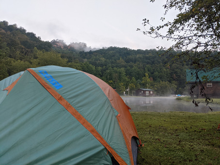 Camping At The Red River Gorge!