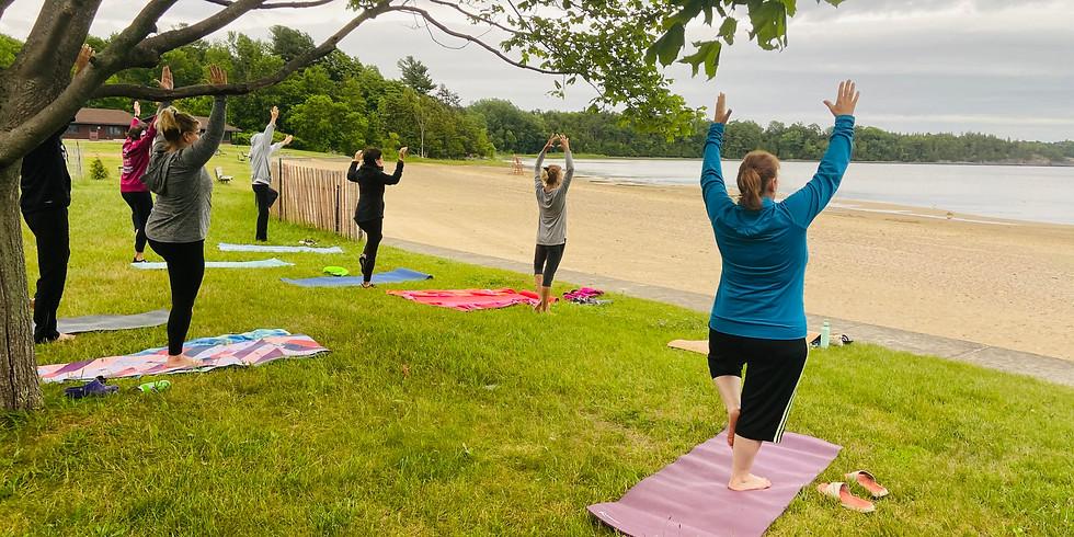 Sunrise Yoga @ the Beach