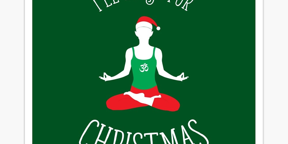 Restorative Yoga in your Holiday PJ's