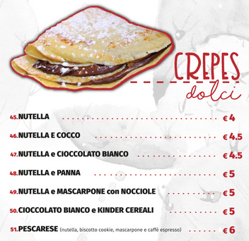CREPES DOLCI