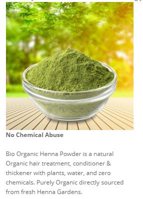 Bio Organic Henna , Fresh Henna.PNG