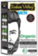 Organic Hair & Beard Color For Men Soft