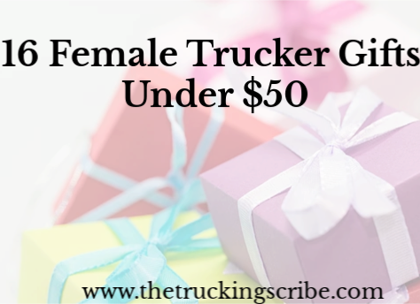 16 Female Truck Driver Gifts Under $50