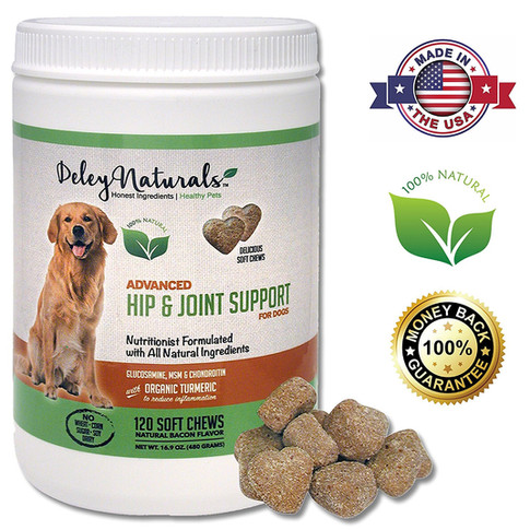 Deley Naturals, Advanced Arthritis Pain Relief for Dogs