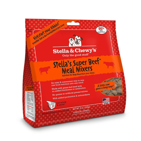 Freeze-Dried Raw Super Beef Meal Mixers