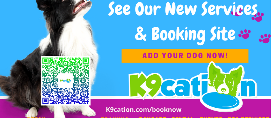 K9cation Launches New Software - Sign Your Dog Up Now