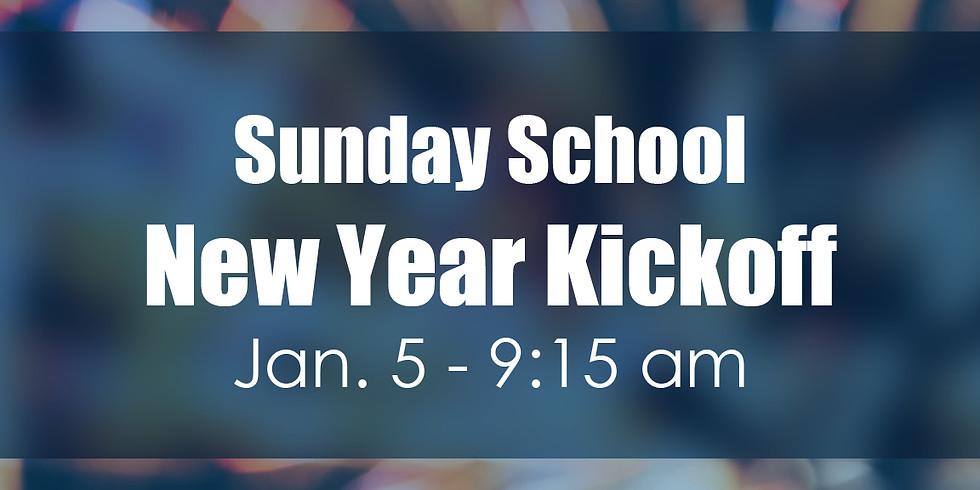 Sunday School New Year Kickoff