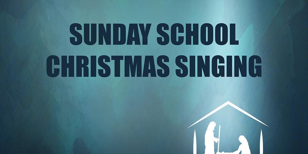 Sunday School Christmas Singing