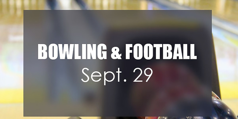 Men's Bowling and Football