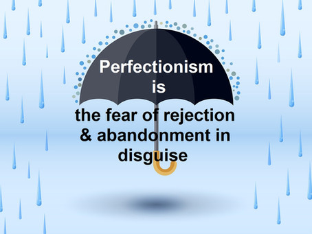 Perfectionism: Making it Work for You