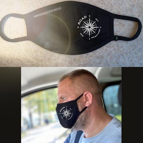 Mask Meeste RoadAdventures logoga