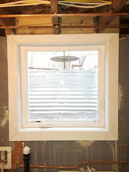 New window well and casement window